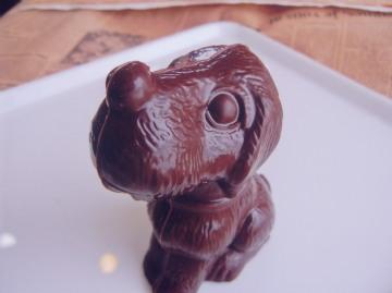 チョコレートの犬