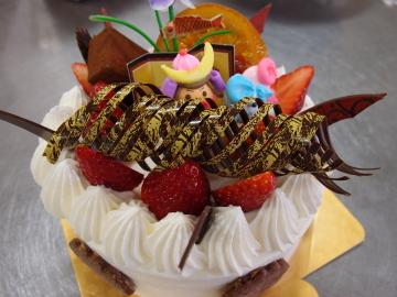 こどもの日のデコレーションケーキ