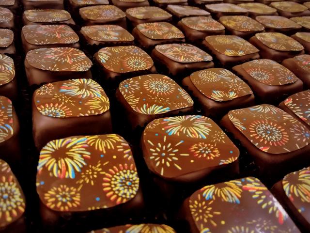 花火のチョコレート